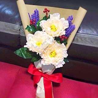🔥Handmade Spring Peony Flower Bouquet