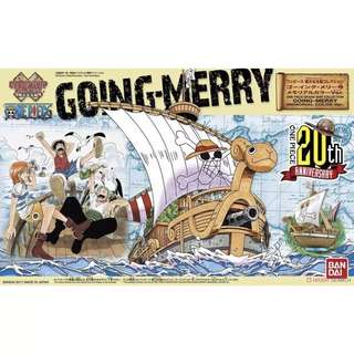 One Piece Grandship Collection Going Merry Memorial Colour Ver. 20th Anniversary