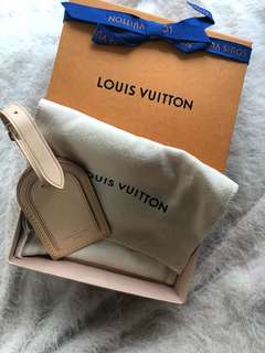 Louis Vuitton luaggage/bag tag