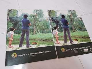 Singapore Zoological Gardens' Animals Acyivity Book