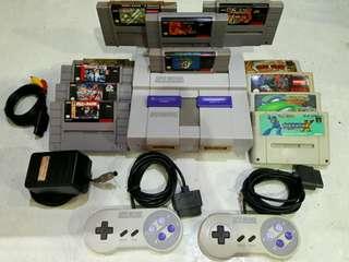 Super Nintendo SNES Classic Complete set