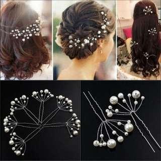 Headpiece Hairpiece Aksesoris Hiasan Rambut Wanita Pesta Motif Bunga Pernikahan Pengantin Bandana Hairpin