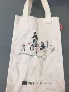 🚚 博客來 x 合成帆布行 手提袋