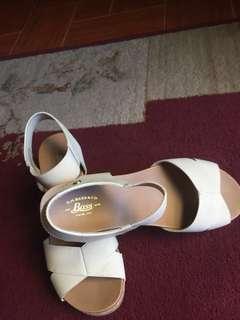 Bass wedge sandals