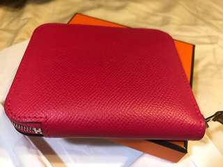 Hermes short silk in wallet