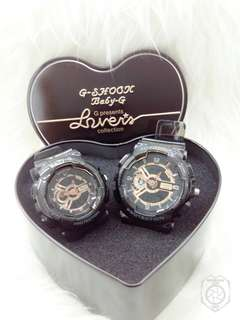 G-SHOCK COUPLE(baby g)