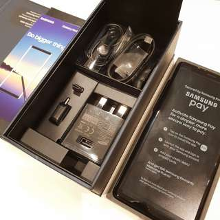 BNIB Samsung Galaxy Note 8 Midnight Black 64GB