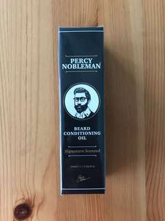 Percy Nobleman Beard Conditioning Oil - unopened