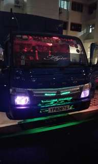 LED Intallations for Van/Lorries