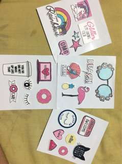 Iconic stickers
