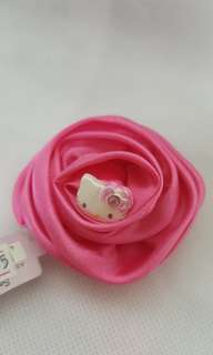 Hello Kitty Pink Rose Hair Band
