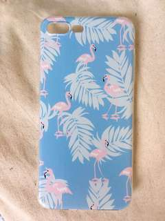 iPhone Case 手機殼 雀鳥 花 動物 Bird Flowers 7plus/8plus