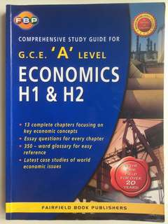 SUPER CHEAP Comprehensive Study Guide for GCE A Level H1 & H2 Economics