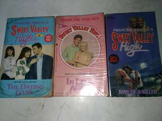 Sweet Valley High P150 for 3 books