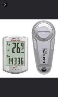 Brand New! CATEYE-STRADA-Wireless-SLIM-Cycling-Bike-Computer-Speedometer-CC-RD310W-Silver