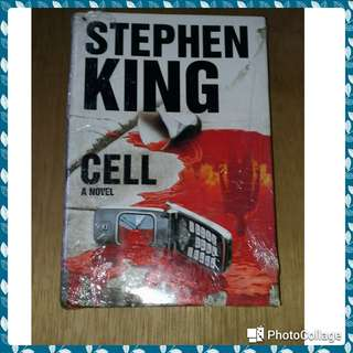 "Stephen king "" cell novel """