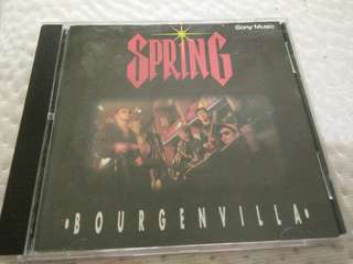 SPRING BOURGENVILLA MALAY ROCK ORIGINAL CD 1994