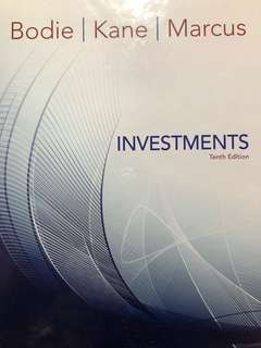 Investments - Bodie, Kane, Marcus Tenth Edition