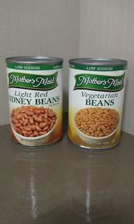 Imported canned beans