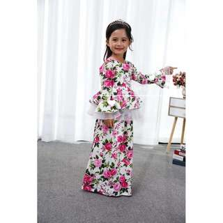 Coolelves kids baju peplum