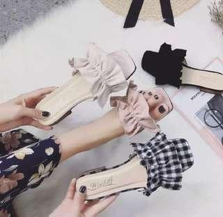 Korean Ribbon Slippers