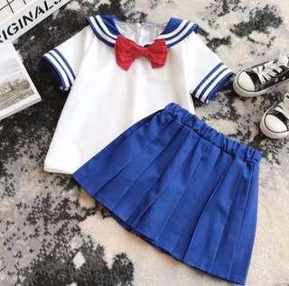 BN SailorMoon/Nautical Dress Set