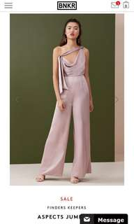 Finders keepers - aspect jumpsuit in dusk size S