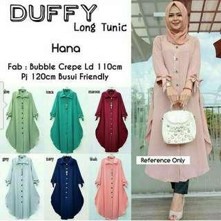 Duffy long   tunic