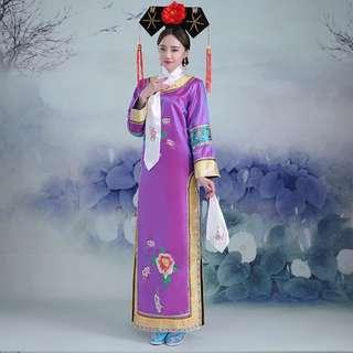 Dynasty Ching Princess Costume 清朝格格装