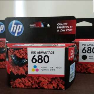 HP Ink Advantage 680 (New & Sealed)
