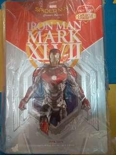 Hot Toys Ironman Mark XLVII 半可動 全新未開封