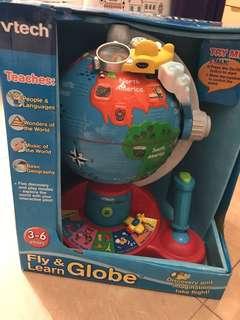Vtech Fly & Learn Globe 全新兒童學習玩具