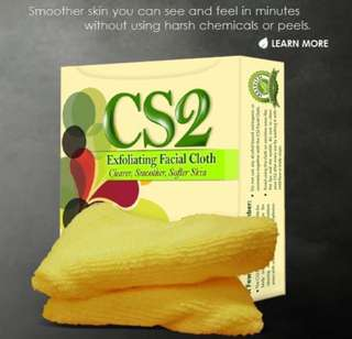 CS2 Exfoliating Facial Cloth