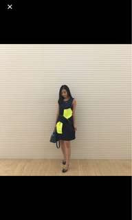 Dress Jassiel Navy Green