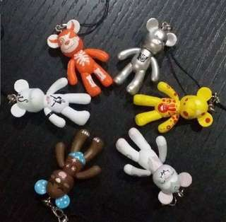 Bear key chains
