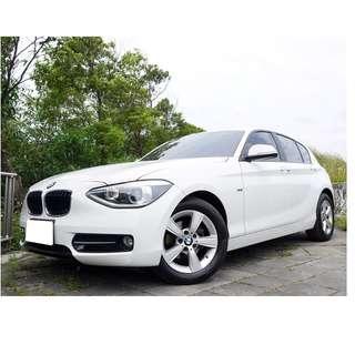 全額貸款-2013年 BMW 116I 渦輪引擎 一手全車原漆 里程6萬