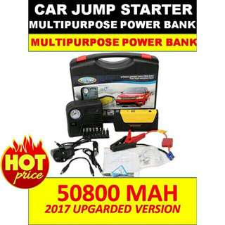 Power Bank for Car Jump Start 50800mAH & Tire Inflate Device