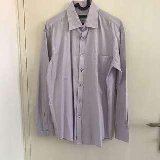 Van Heusen Long Sleeve Shirt (Purple)