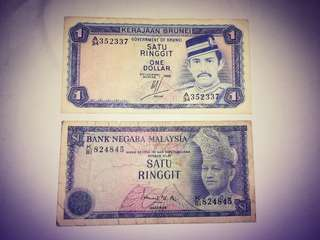 Old Currency for Malaysia and Brunei