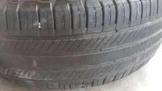 Tyre michelin rim 17