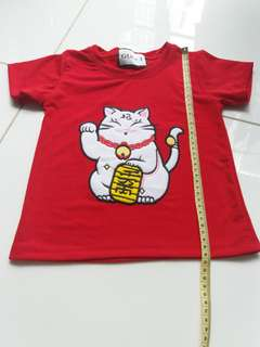 Red Shirt ($3 incl postage)