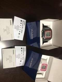 On hand! Casio watches