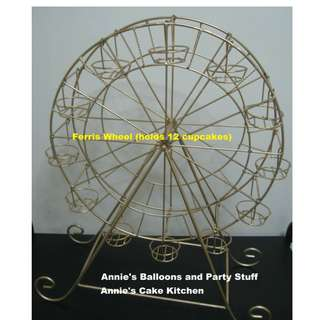 Ferris Wheel Cupcake Stand (Holds 12 Cupcakes)