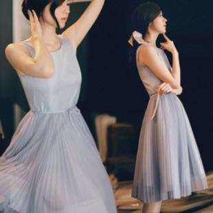 Sleeveless Princess Lady Dress