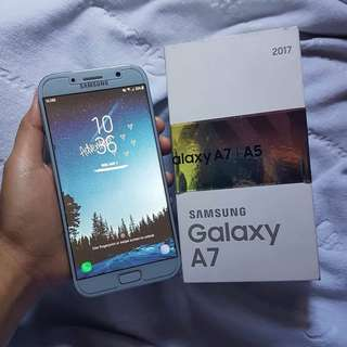 ‼️REPRICED‼️ Samsung Galaxy A7 2017 Blue Mist (LIMITED EDITION)