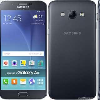 Samsung Galaxy A8 2018 black color