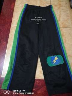 Puma jogging pants for 5 y.o.