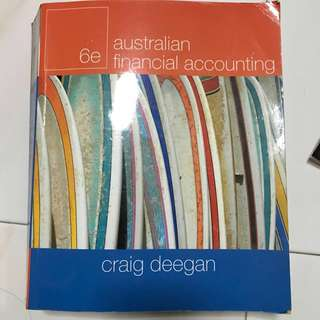 Australian Financial Accounting 6th Edition Craig Deegan