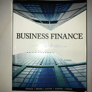 Business Finance 10th Edition Graham Peirson