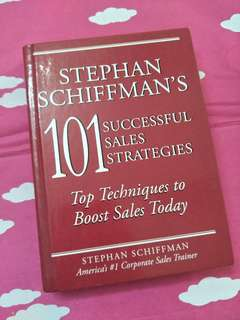 101 Successful Sales Strategies by Stephan Schiffman's